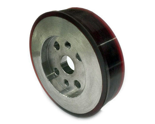 cnc-rubber-traction-wheel